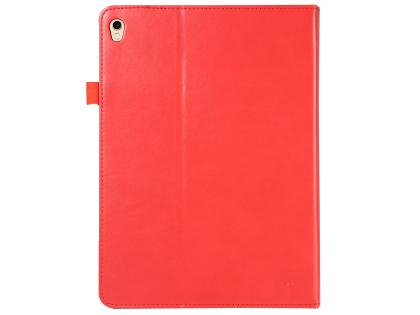 Synthetic Leather Flip Case with Stand for iPad Pro 12.9 (2018) - Red