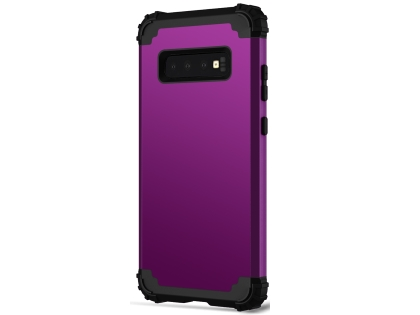 Defender Case for Samsung Galaxy S10 - Plum Impact Case