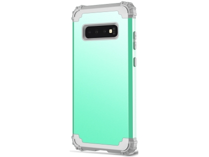 Defender Case for Samsung Galaxy S10 - Mint Impact Case