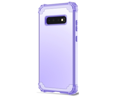 Defender Case for S10+ - Lilac Impact Case