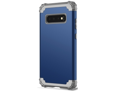 Defender Case for S10+ - Navy Impact Case