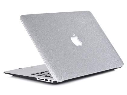 Toughshell Glitter Hardcase for MacBook Air 13 (2010-2017) - Silver Hard Case