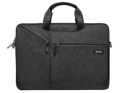 WiWU City Commuter Bag 13.3 inch - Black Laptop Bag