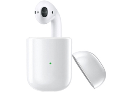 WiWU Left Ear AirSolo Wireless Earphone - White Bluetooth Headset