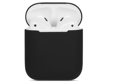 Soft Silicone Case for Apple AirPods  - Black Sleeve