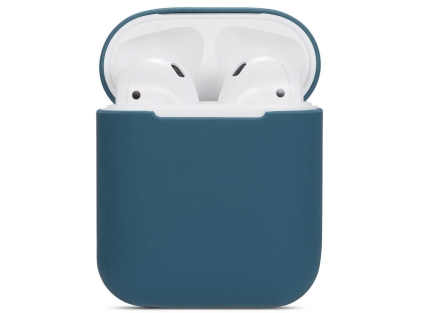 Soft Silicone Case for Apple AirPods  - Delft Blue Sleeve