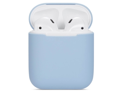 Soft Silicone Case for Apple AirPods  - Sky Blue Sleeve