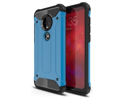Impact Case for Motorola Moto G7 Plus - Blue Impact Case