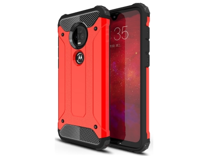 Impact Case for Motorola Moto G7 Plus - Red Impact Case