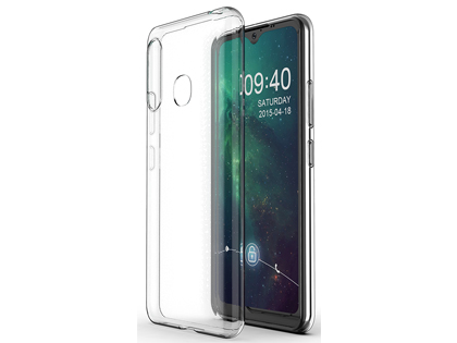 Ultra Thin Gel Case for Samsung Galaxy A20 - Clear Soft Cover