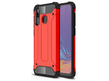 Impact Case for Samsung Galaxy A20 - Scarlet Red Impact Case
