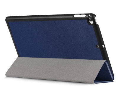 Premium Slim Synthetic Leather Case with Stand for the iPad mini 4/5 - Dark Blue Leather Flip Case