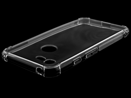 Gel Case with Bumper Edges for Google Pixel 3a - Clear Soft Cover
