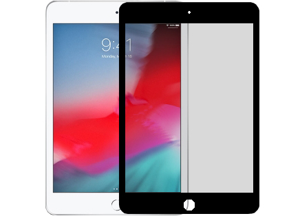 Tempered Glass Screen Protector for Apple iPad Mini (2019) - Black Screen Protector
