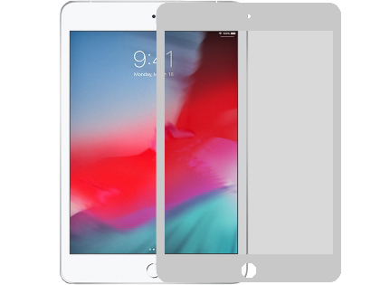 Tempered Glass Screen Protector for Apple iPad Mini (2019) - White Screen Protector