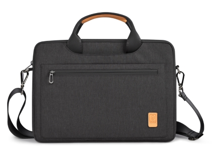 WiWU Pioneer Shoulder Laptop Bag 14 inch - Black Device Bag