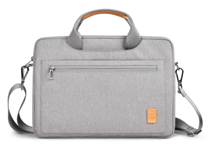 WiWU Pioneer Shoulder Laptop Bag 14 inch - Grey Device Bag