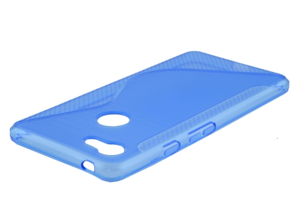 Wave Case for Google Pixel 3a - Blue Soft Cover