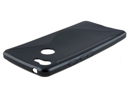 Wave Case for Google Pixel 3a - Black Soft Cover