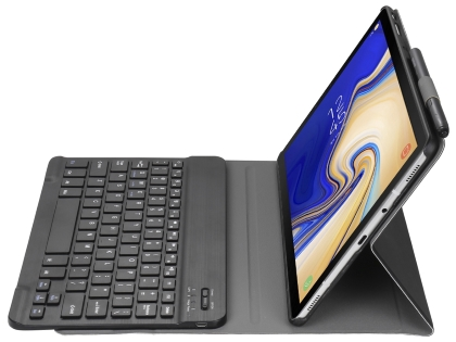 Smart Bluetooth Keyboard Case for Tab A 10.1 (2019) - Black Keyboard