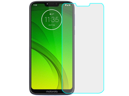 Flat Tempered Glass Screen Protector for Moto G7 Power - Screen Protector