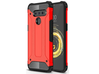 Impact Case for LG V50 ThinQ - Red Impact Case