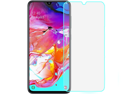 Flat Tempered Glass Screen Protector for Samsung Galaxy A70 - Screen Protector