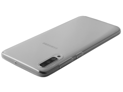Ultra Thin Gel Case for Samsung Galaxy A70 - Clear Soft Cover