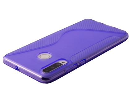 Wave Case for Huawei P30 Lite - Purple Soft Cover
