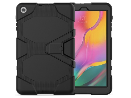 Rugged Impact Case for Samsung Galaxy Tab A 10.1 (2019) - Classic Black Impact Case