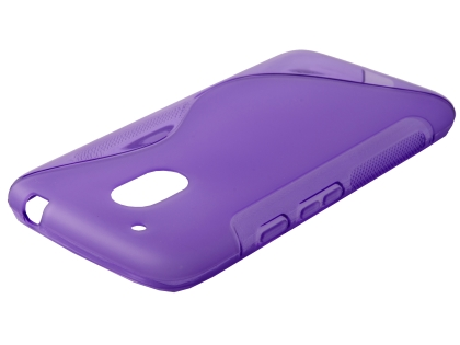 Wave Case for Motorola Moto G4 Play - Purple Soft Cover