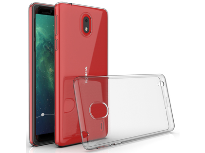 Ultra Thin Gel Case for Nokia 1 Plus - Clear Soft Cover