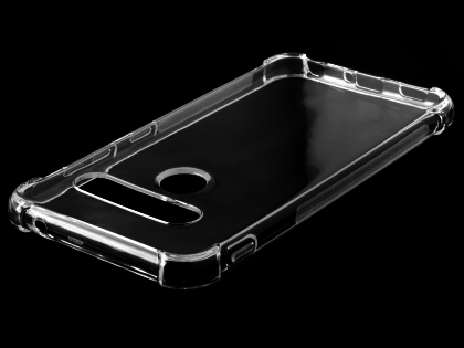 Gel Case with Bumper Edges for LG G8S ThinQ - Clear Soft Cover