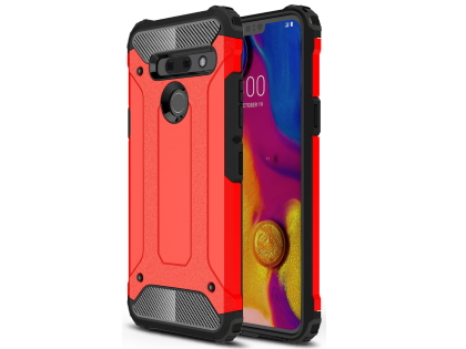 Impact Case for LG G8 ThinQ - Red Impact Case