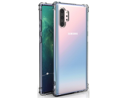 Gel Case with Bumper Edges for Samsung Galaxy Note10+ 5G - Clear Soft Cover