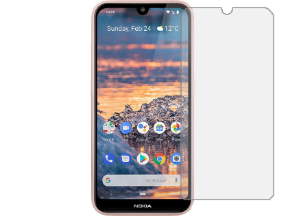 Flat Tempered Glass Screen Protector for Nokia 4.2 - Screen Protector