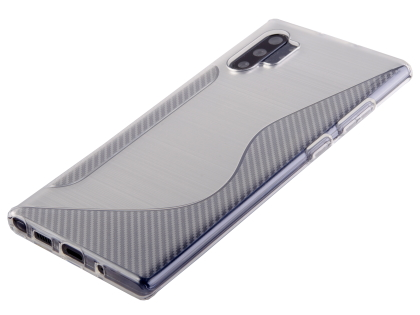Wave Case for Samsung Galaxy Note10+ - Clear Soft Cover