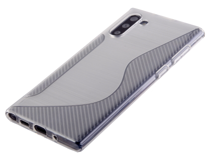Wave Case for Samsung Galaxy Note10 - Clear Soft Cover