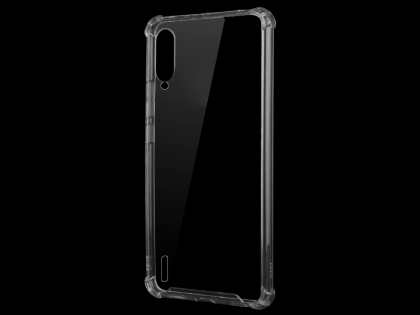 Gel Case with Bumper Edges for Xiaomi Mi A3 - Clear Soft Cover