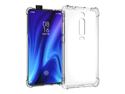 Gel Case with Bumper Edges for Xiaomi Mi 9T - Clear Soft Cover