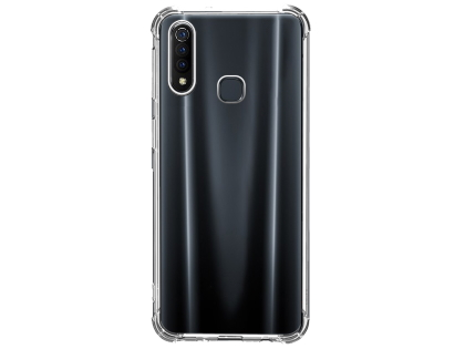 Gel Case with Bumper Edges for vivo S1 - Clear Soft Cover