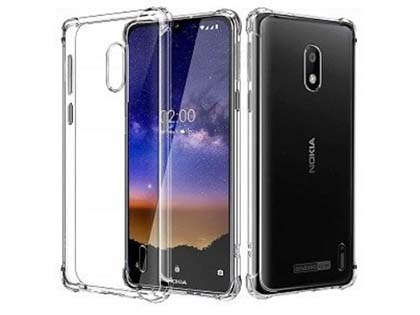 Gel Case with Bumper Edges for Nokia 2.2 - Clear Soft Cover