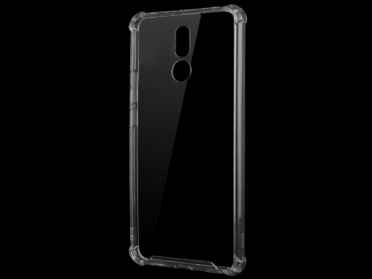 Gel Case with Bumper Edges for Nokia 3.2 - Clear Soft Cover
