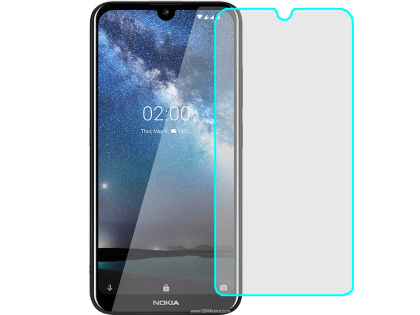 Flat Tempered Glass Screen Protector for Nokia 2.2 - Screen Protector