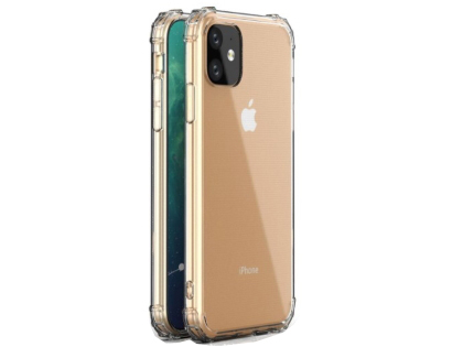Gel Case with Bumper Edges for iPhone 11 - Clear Soft Cover