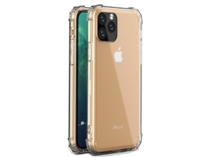 Gel Case with Bumper Edges for iPhone 11 Pro Max - Clear Soft Cover