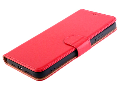 Premium Leather Wallet Case for Apple iPhone 11 Pro - Pink
