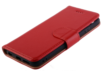 Premium Leather Wallet Case for iPhone 6s/6 - Red