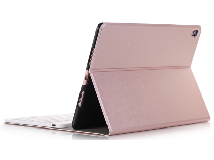 Keyboard and Case for iPad 7th Gen - Rose Gold Keyboard