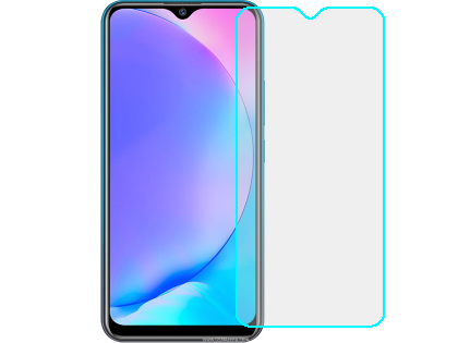 Flat Tempered Glass Screen Protector for vivo Y12 - Screen Protector